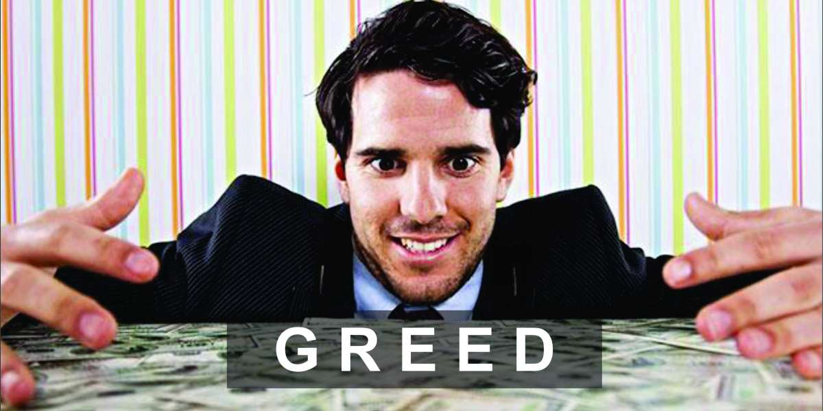 Dealing with the sin of GREED - LEAP by Fada Oluoma